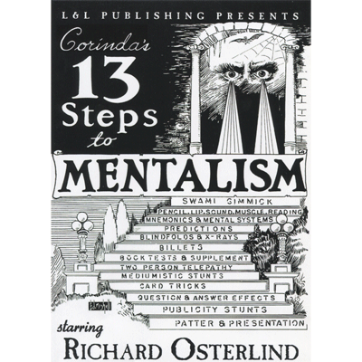 13 Steps To Mentalism (6 Videos) by Richard Osterlind DOWNLOAD