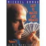 Easy to Master Card Miracles Volume 1 by Michael Ammar video DOWNLOAD