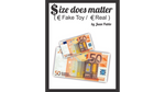 Size Does Matter EURO (Gimmicks and Online Instructions)