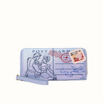 Load image into Gallery viewer, Cinderella Wallet Wristlet – Love Letters