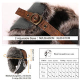 Mad Bomber Warm Brown Faux Fur Bomber Hat