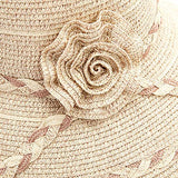 Comhats Womens UPF50+ Linen/Cotton Summer Sunhat Bucket Packable Hats