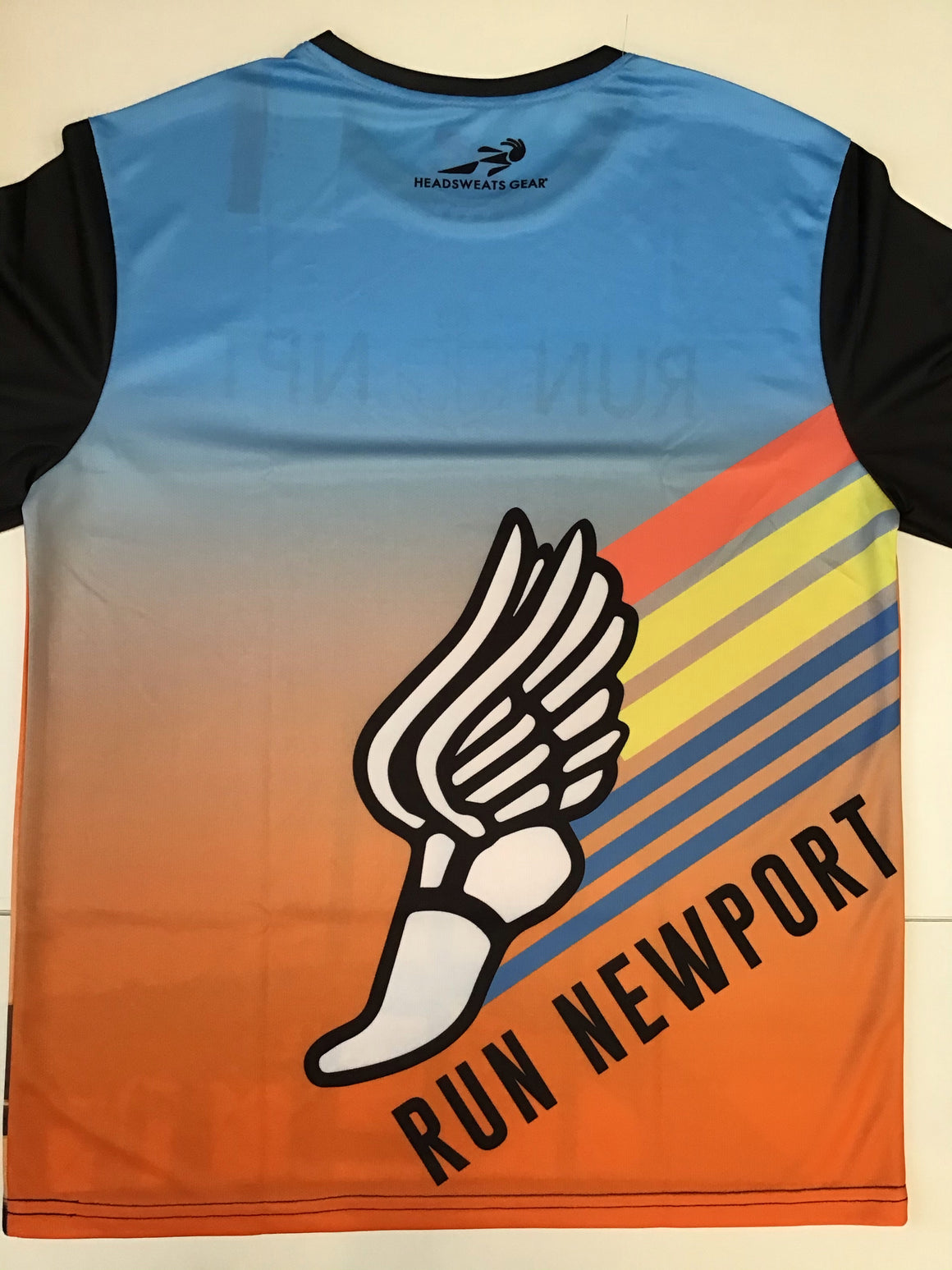 Run Newport Men's Tech-T LS Bridge