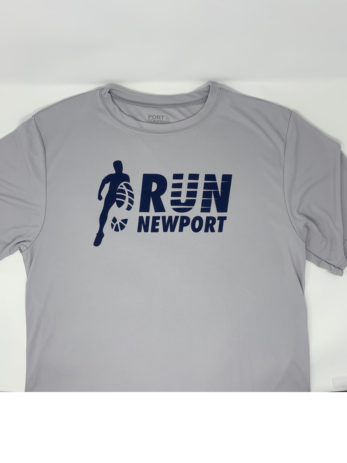 Run Newport Men's Tech-T OG Logo