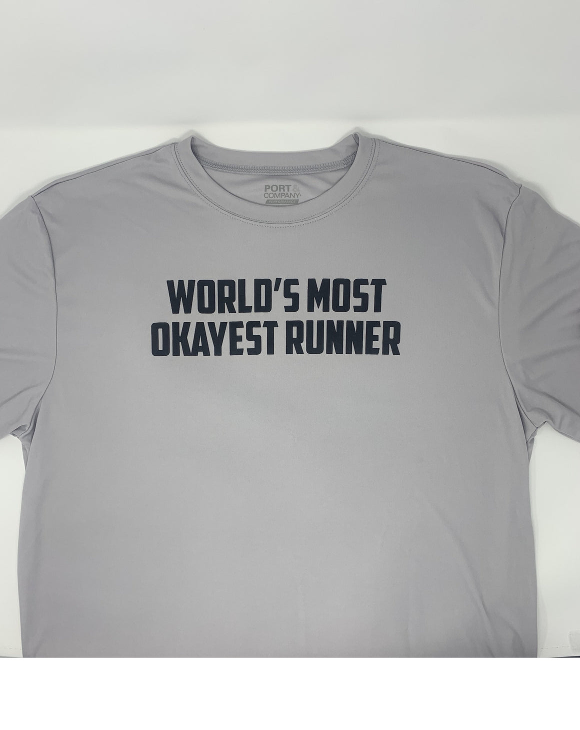 Run Newport Men's Tech-T Most Okayest