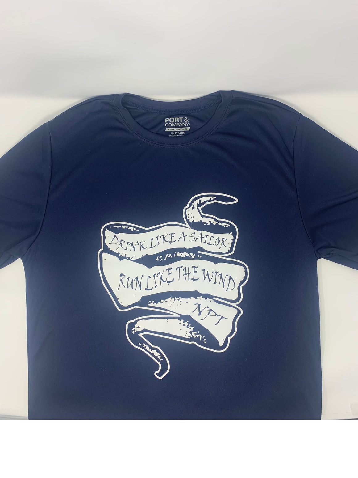 Run Newport Men's Tech-T Drink Like A Sailor