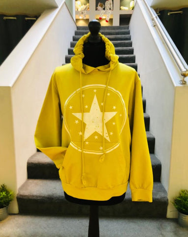 Jane - Mustard Star Sweatshirt