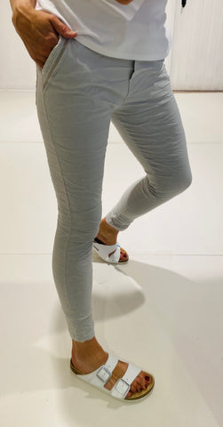 Jane - Grey Magic Stretch Joggers