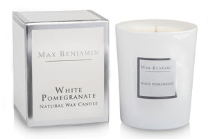 Max Benjamin White Pomegranate Candle
