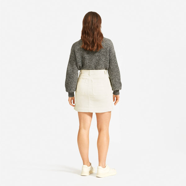 The Corduroy Stamp Skirt
