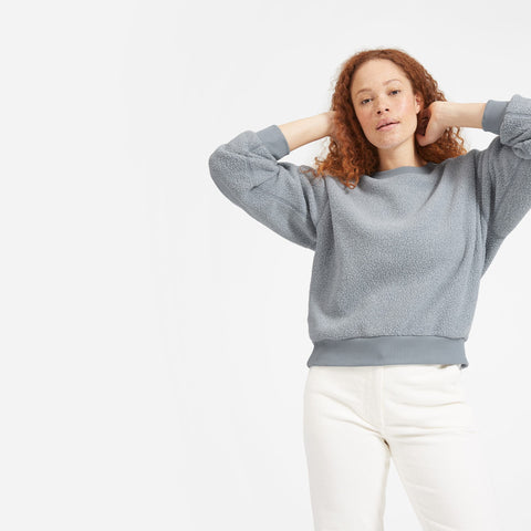 The ReNew Fleece Oversized Sweatshirt