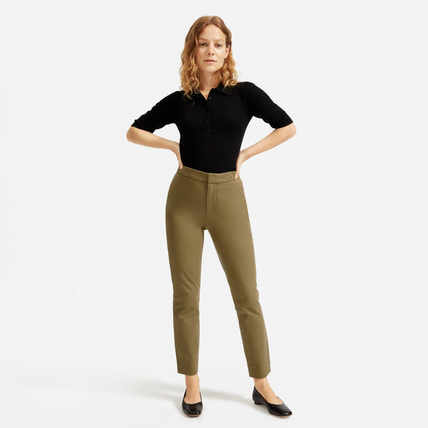 The Fixed-Waist Work Pant