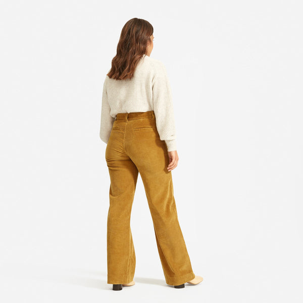 The Corduroy Wide Leg Pant