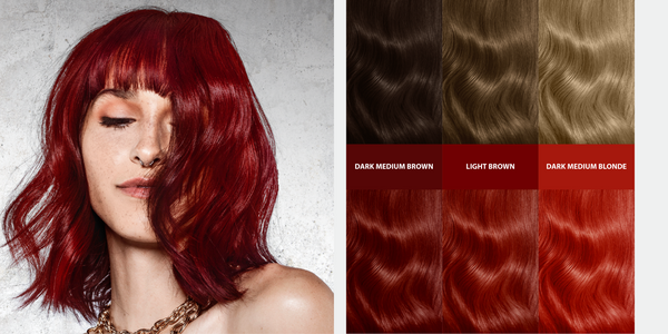 Double Lift Permanent Bold Hair Color | Iconic Red