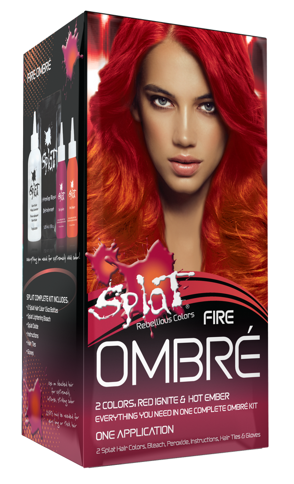 Splat Ombre Fire Original Complete Kit