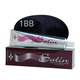 Satin Hair Color Blue Black (1BB)
