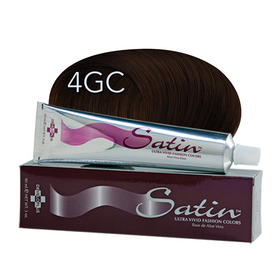 Satin Hair Color Golden Copper Chestnut (4GC)