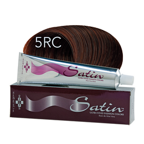 Satin Hair Color Light Red Copper Chestnut (5RC)