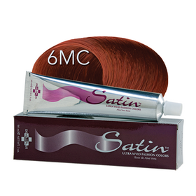 Satin Hair Color Light Copper Mahogany (6MC)