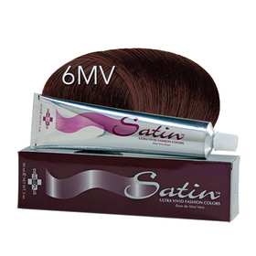 Satin Hair Color Mahogany Violet (6MV)
