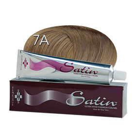 Satin Hair Color Ash Blonde (7A)