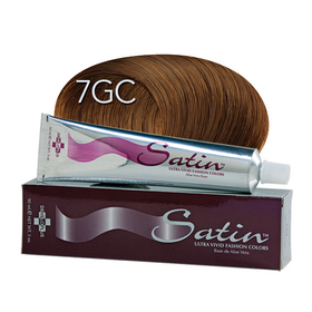 Satin Hair Color Golden Copper Blonde (7GC)