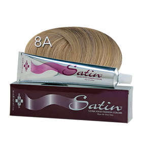 Satin Hair Color Light Ash Blonde (8A)