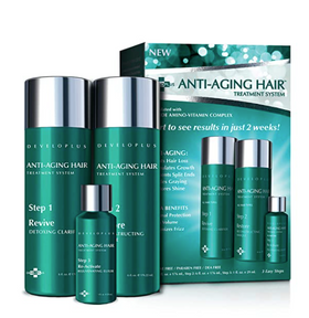 Anti Aging Hair Treatment 3 Step System