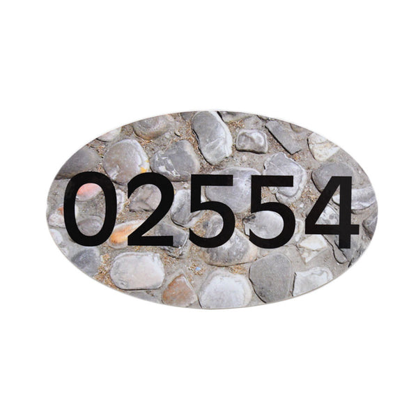 02554 Cobblestone Sticker