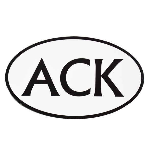 ACK Car Magnet