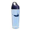 24 oz Blue Stripe Nantucket Tervis Water Bottle