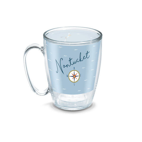 15 oz Nantucket Compass Tervis Mug