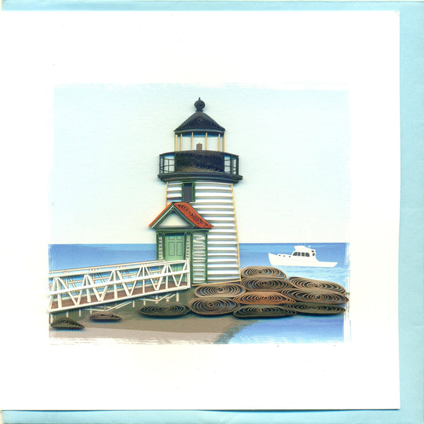 Brant Point Quilling Card