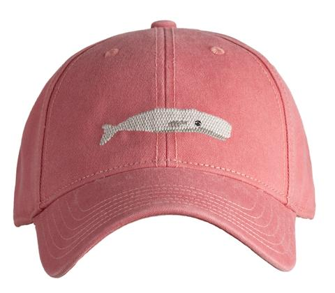 Whale on Faded Red Cap