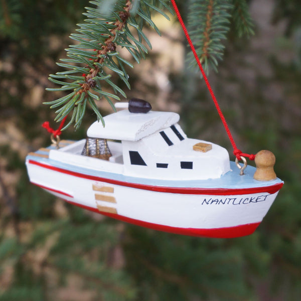 Nantucket Fishing Boat Ornament