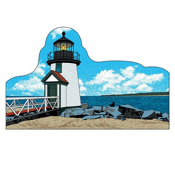"Cat's Meow ""Brant Point Lighthouse"" Keepsake"