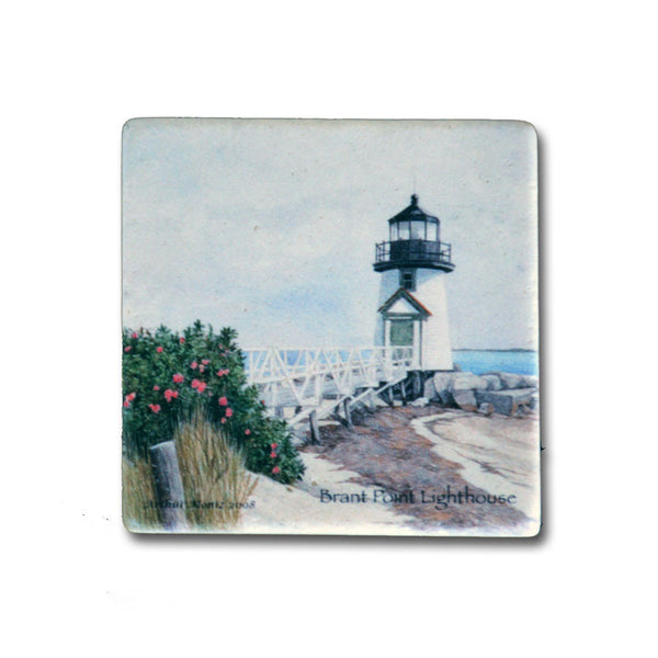 Antique Brant Point Light Magnet