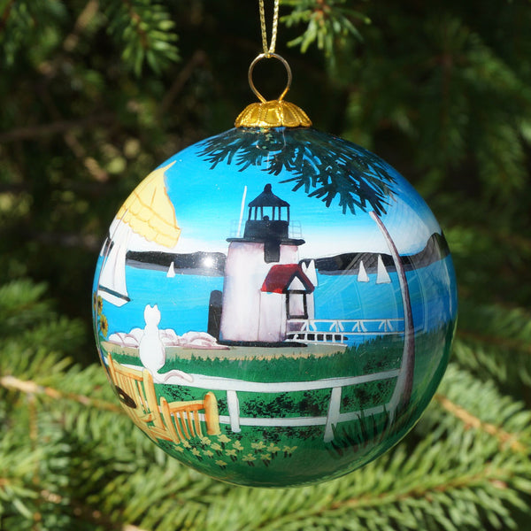 Nantucket Brant Point Ornament