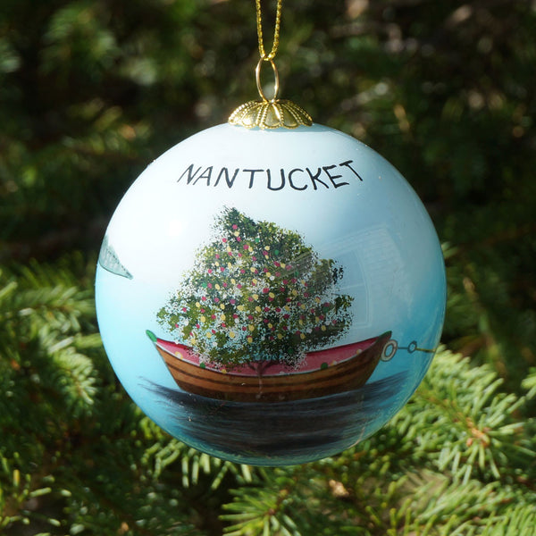 Nantucket Dory Tree Ornament