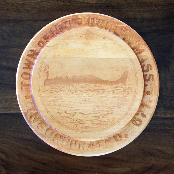 Nantucket Island Town Seal Cutting Board