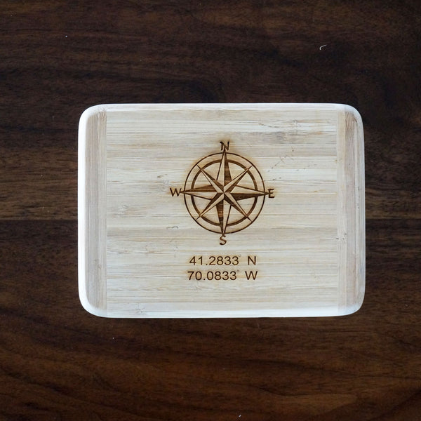 Nantucket Compass Cutting Board