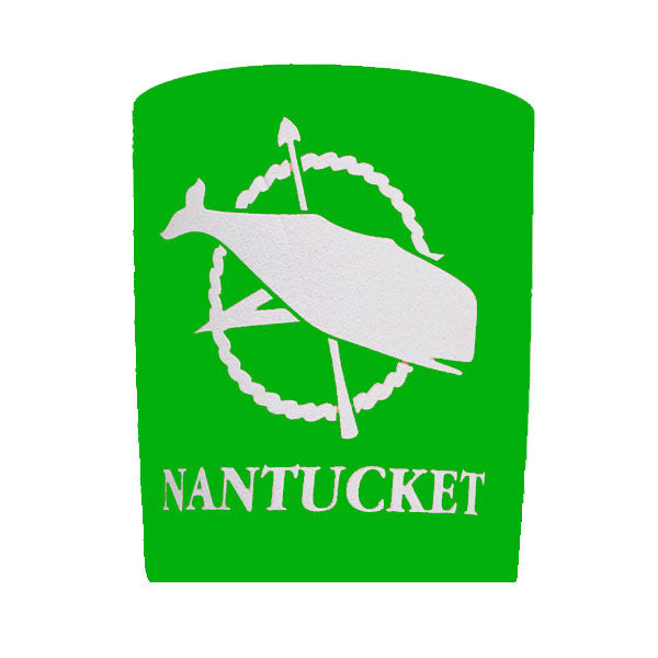 Green Nantucket Koozie