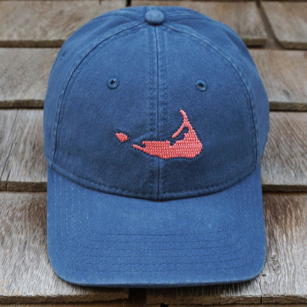 Nantucket Island on Navy Cap