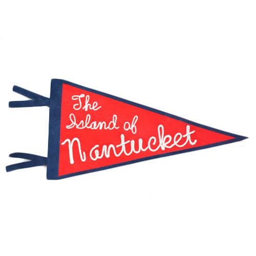 The Island of Nantucket Pennant