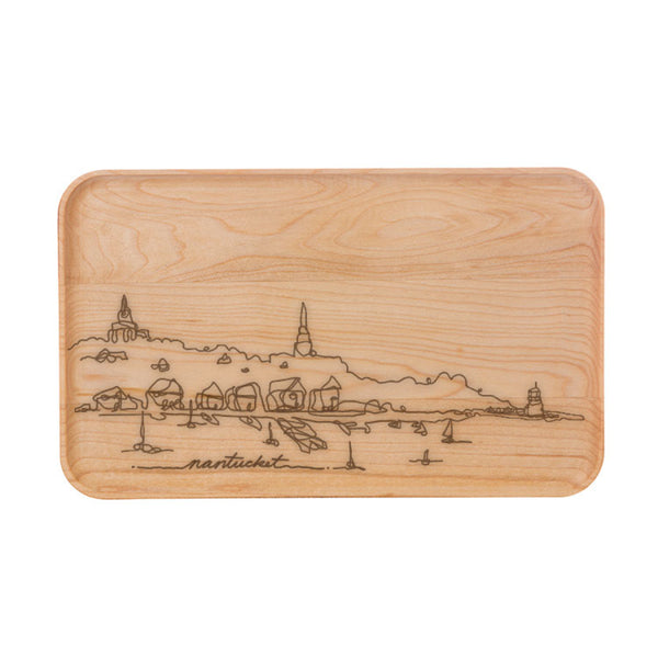 Nantucket Scene Cutting Board