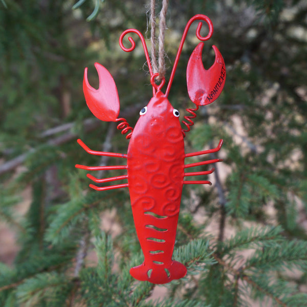 Nantucket Red Lobster Ornament