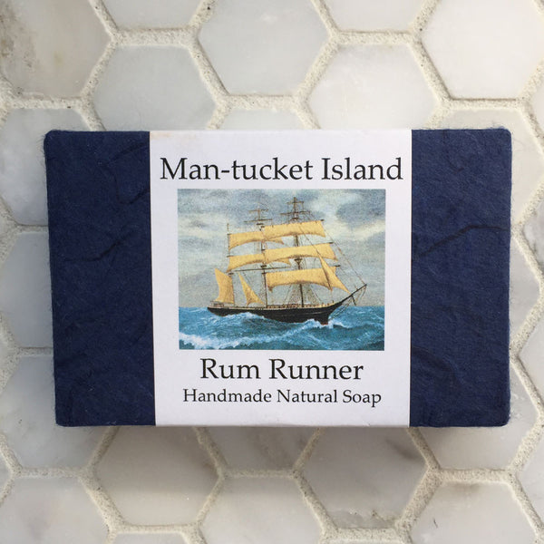Man-Tucket Rum Runner Soap
