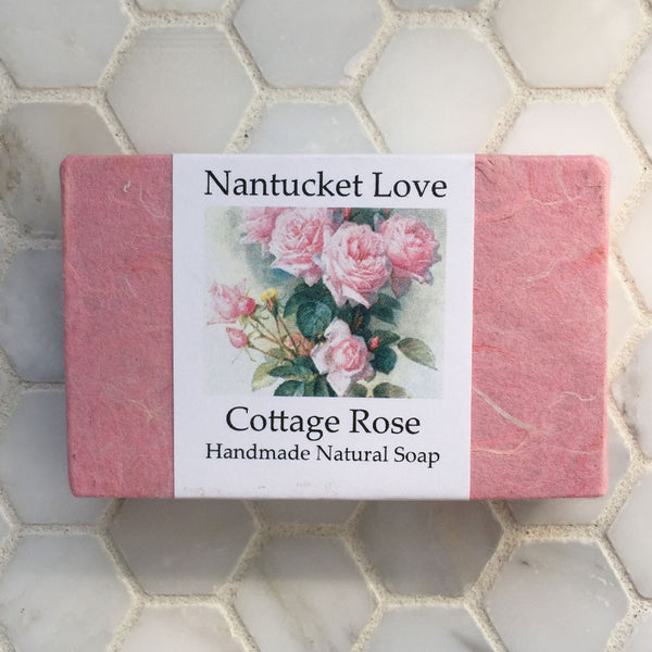Nantucket Love Cottage Rose Soap