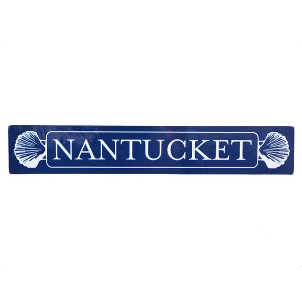 Nantucket Navy Quarterboard Sticker