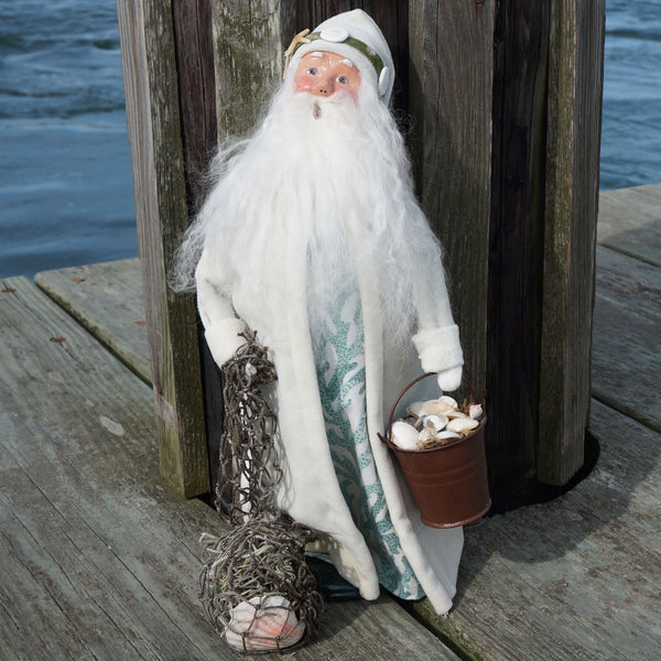 BYER'S CHOICE CAROLER - NAUTICAL SANTA CLAUS